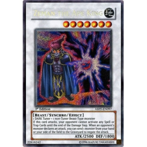 Zeman the Ape King - (Secret Rare) (ABPF) available at 401 Games Canada