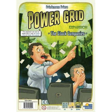 Power Grid - The Stock Companies Expansion - 401 Games