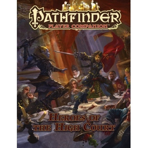 Buy Pathfinder - Player Companion - Heroes of the High Court and more Great RPG Products at 401 Games
