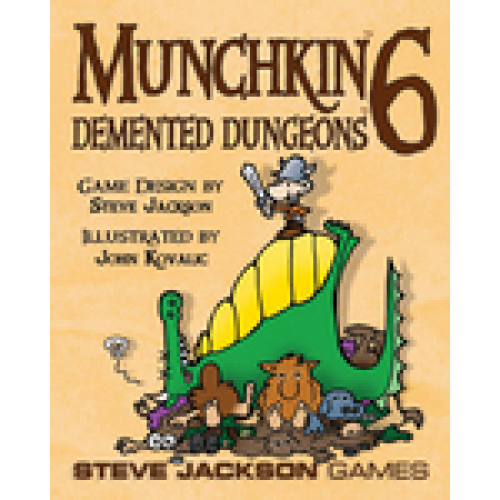 Munchkin 6: Demented Dungeons available at 401 Games Canada