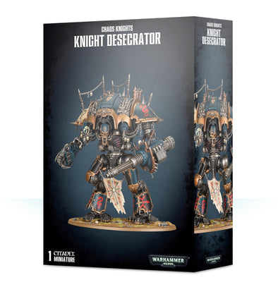 Warhammer 40,000 - Chaos Knights - Knight Desecrator available at 401 Games Canada
