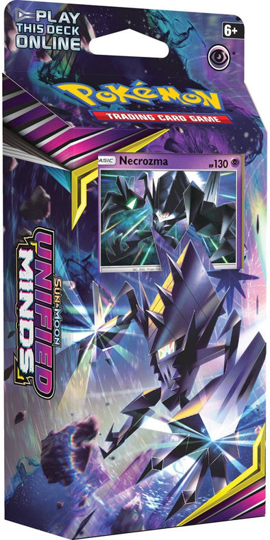 Buy Pokemon - Unified Minds Theme Deck - Necrozma (Pre-Order July 29th, 2019) and more Great Pokemon Products at 401 Games