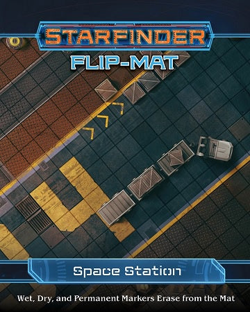 Buy Starfinder - Flip Mat - Space Station and more Great RPG Products at 401 Games