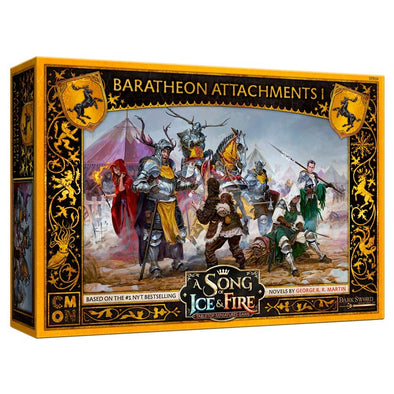 A Song of Ice and Fire - Tabletop Miniatures Game - House Baratheon - Attachments 1 (Pre-Order) - 401 Games