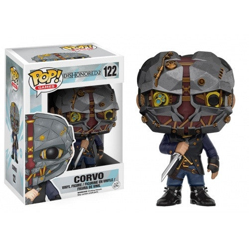 Buy Pop! Games - Dishonored 2 Corvo and more Great Funko & POP! Products at 401 Games