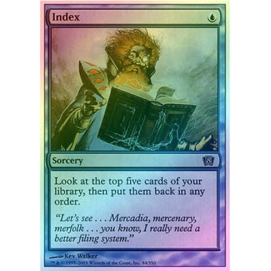 Index (Foil) available at 401 Games Canada