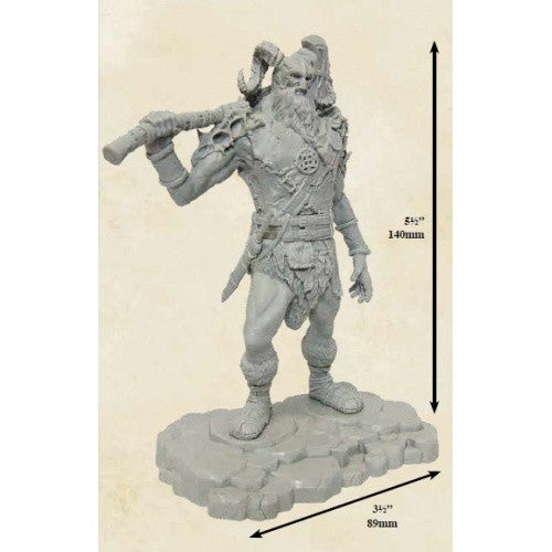 Dungoens and Dragons Miniature Collector's Series - Storm King's Thunder - Frost Giant Reaver - 401 Games