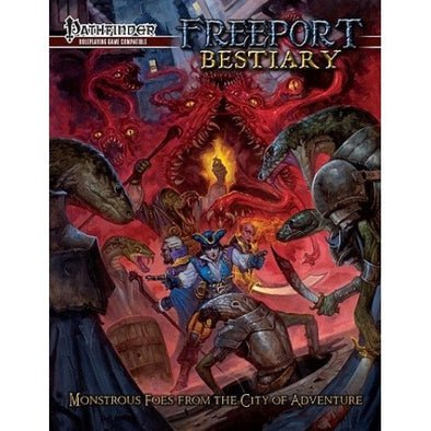 Buy Pathfinder - Book - Freeport: Bestiary and more Great RPG Products at 401 Games