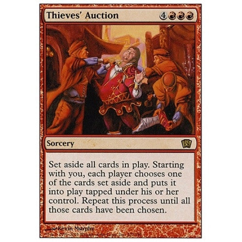 Thieves' Auction available at 401 Games Canada