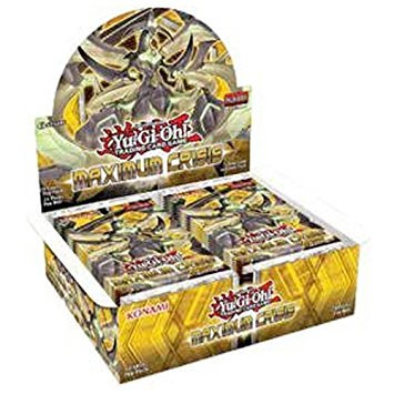 Yugioh - Maximum Crisis Booster Box - 401 Games