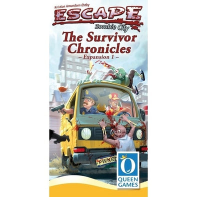 Escape: Zombie City - The Survivor Chronicles Expansion 1 available at 401 Games Canada