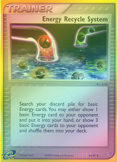 Energy Recycle System - 84/97 - Reverse Foil (DRG084R) available at 401 Games Canada