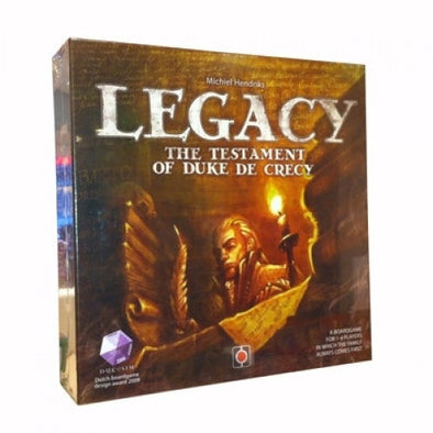 Buy Legacy: The Testament of Duke De Crecy and more Great Board Games Products at 401 Games