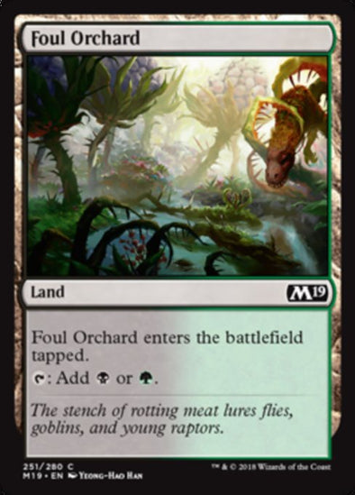 Foul Orchard (M19) available at 401 Games Canada