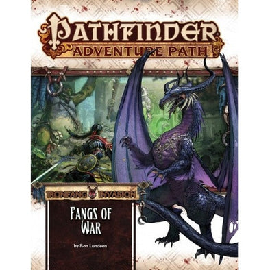 Buy Pathfinder - Adventure Path - #116:Fangs of War (Ironfang Invasion 2 of 6) and more Great RPG Products at 401 Games