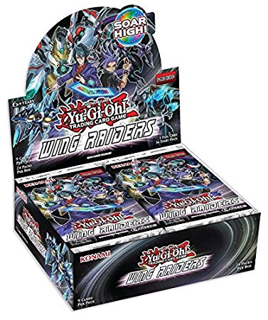 Buy Yugioh - Wing Raiders Booster Box and more Great Yugioh Products at 401 Games