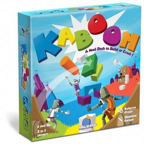 Kaboom: A Mad Dash to Build or Crash! - 401 Games