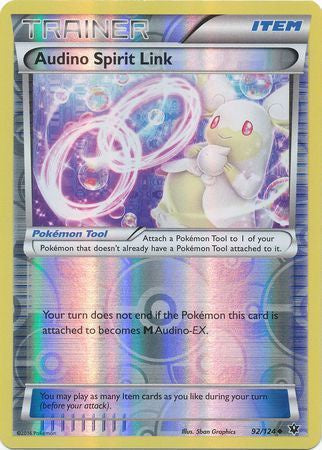 Buy Audino Spirit Link - 92/124 - Reverse Foil and more Great Pokemon Products at 401 Games