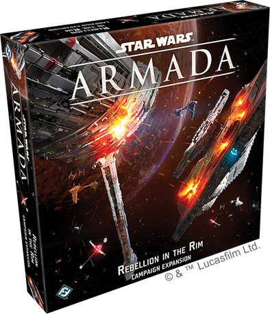 Buy Star Wars Armada - Rebellion in the Rim (Pre-Order) and more Great Board Games Products at 401 Games