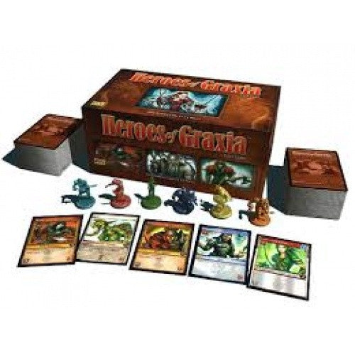Heroes of Graxia Card Game - 401 Games