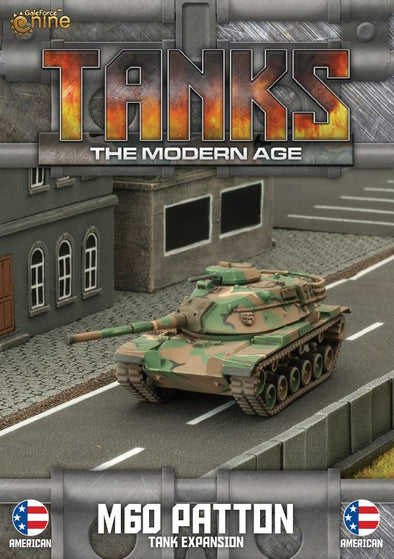 Tanks - Modern Age - American - M60 Patton