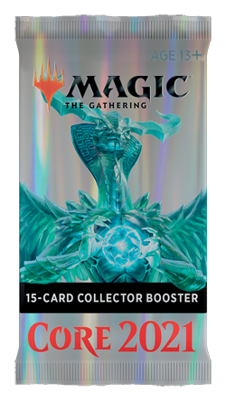 MTG - Core Set 2021 - Collector Booster Pack (Pre-Order) - 401 Games