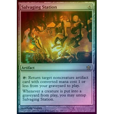 Salvaging Station (Foil) (5DN) available at 401 Games Canada