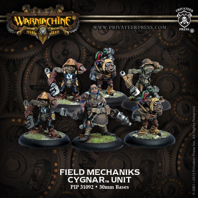 Buy Warmachine - Cygnar - Field Mechaniks and more Great Tabletop Wargames Products at 401 Games