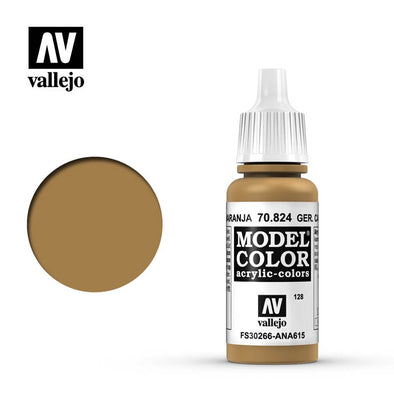 Buy Vallejo - Model Color - 128 - German Camouflage Orange Ochre and more Great Tabletop Wargames Products at 401 Games
