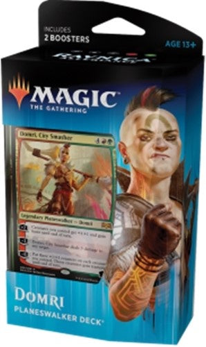Buy MTG - Ravnica Allegiance - Planeswalker Deck - Domri and more Great Magic: The Gathering Products at 401 Games