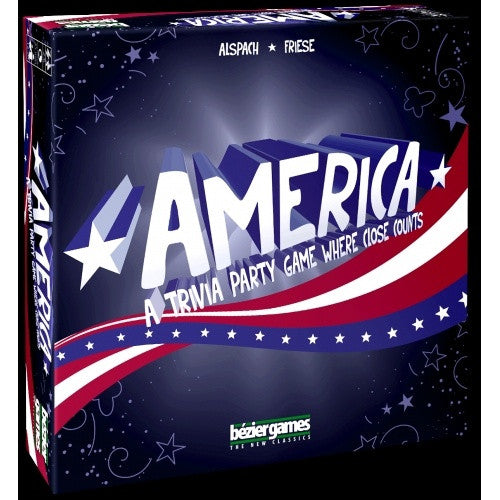 America - Trivia Party Game - 401 Games