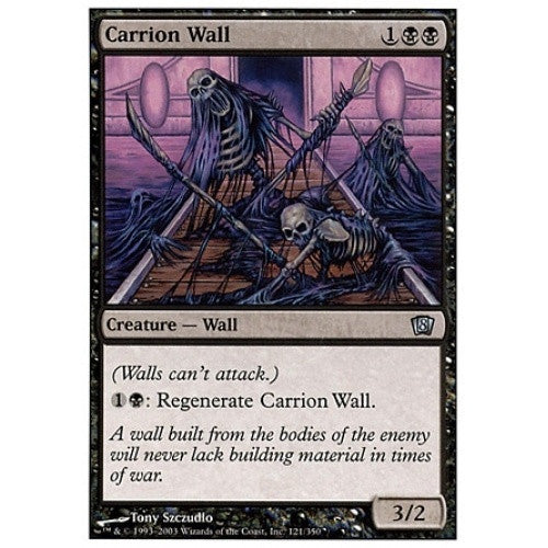Carrion Wall available at 401 Games Canada