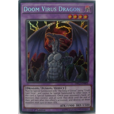 Doom Virus Dragon - (Secret Rare) available at 401 Games Canada