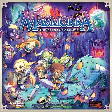 Buy Masmorra: Dungeons of Arcadia and more Great Board Games Products at 401 Games