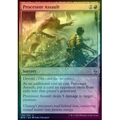 Processor Assault (Foil) (BFZ) available at 401 Games Canada