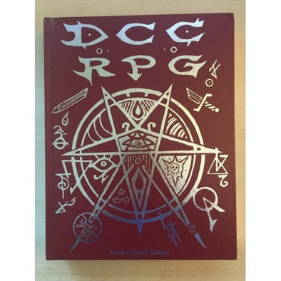 Dungeon Crawl Classics - Real Leather Edition - Core Rulebook - 401 Games