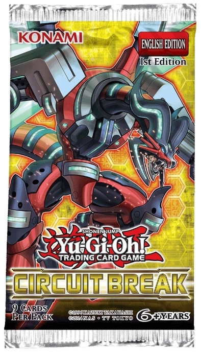 Yugioh - Circuit Break Booster Pack available at 401 Games Canada
