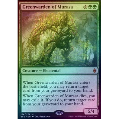 Greenwarden of Murasa (Foil) (BFZ) available at 401 Games Canada