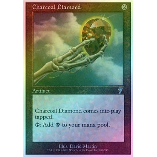 Charcoal Diamond (Foil) available at 401 Games Canada