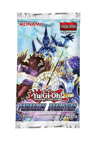 Yugioh - Pendulum Evolution Booster Pack - 401 Games