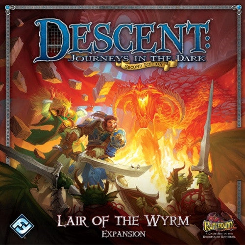 Descent - 2nd Edition - Lair of the Wyrm Expansion - 401 Games