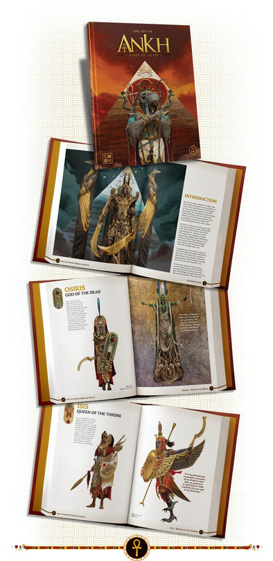 Ankh - Gods of Egypt - Kickstarter Art Book (Pre-Order) available at 401 Games Canada