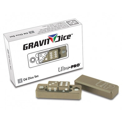 Buy Ultra Pro - Dice Set - 2D6 - Gravity Dice - Desert / Grey and more Great Dice Products at 401 Games