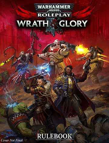 Warhammer 40,000 Role Playing Game - Wrath & Glory - Core Rulebook - Revised (Pre-Order) - 401 Games