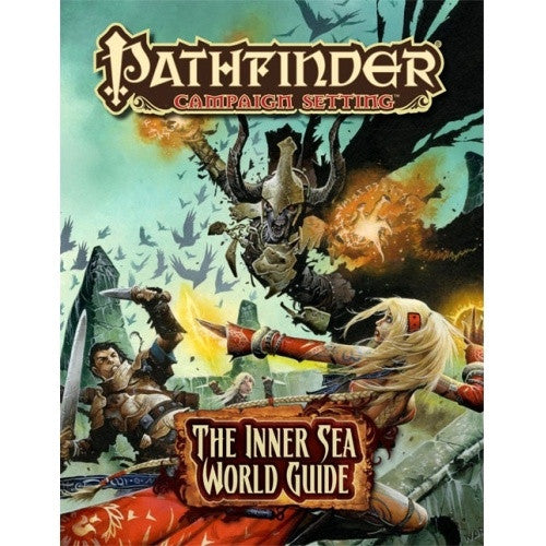 Buy Pathfinder - Campaign Setting - Inner Sea World Guide and more Great RPG Products at 401 Games