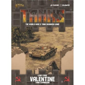 Buy Tanks - Soviet - Lend Lease Valentine and more Great Tabletop Wargames Products at 401 Games
