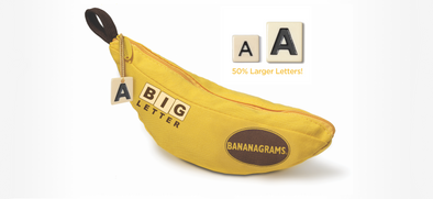Buy Bananagrams - Big Letter and more Great Board Games Products at 401 Games