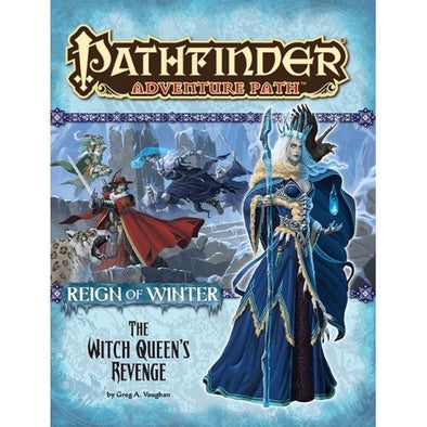 Buy Pathfinder - Adventure Path - #72: The Witch Queen's Revenge (Reign of Winter 6 of 6) and more Great RPG Products at 401 Games