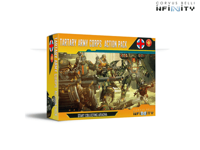Infinity - Ariadna - Tartary Army Corps Action Pack available at 401 Games Canada