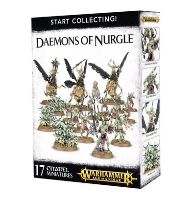 Warhammer - Age of Sigmar/Warhammer 40,000 - Start Collecting! Daemons of Nurgle